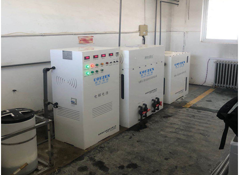 UOUZEN电解食盐二氧化氯消毒设备,为北京疫情防控保护安全饮水